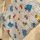 Cars n Trucks baby  receiving blanket lap blanket beach blanket oversized double
