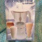 SMOOTHIE TIME bySUNTONE.SMOOTHIE MAKER DRINK BLENDER NEW EASY STORAGE FUNNEL LID