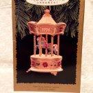 Hallmark Keepsake Ornament 1995 - Tobin Fraley Holiday Carousel Light & Music