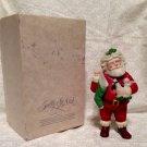 Vtg Hallmark Special Edition Christmas ornament 1986 Jolly St. Nick Porcelain