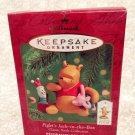 2000 Hallmark ~ PIGLET'S JACK IN THE BOX  ~ Classic Pooh Ornament Piglet Pooh MI