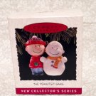 The Peanuts Gang Hallmark Keepsake Ornament Collector Series of Four Christmas