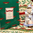 LIVING LEGENDS by Enesco  Pere Noel  and Child  Porcelian  mib