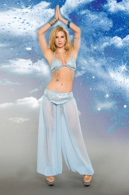2 Piece Heavenly Genie Costume Set