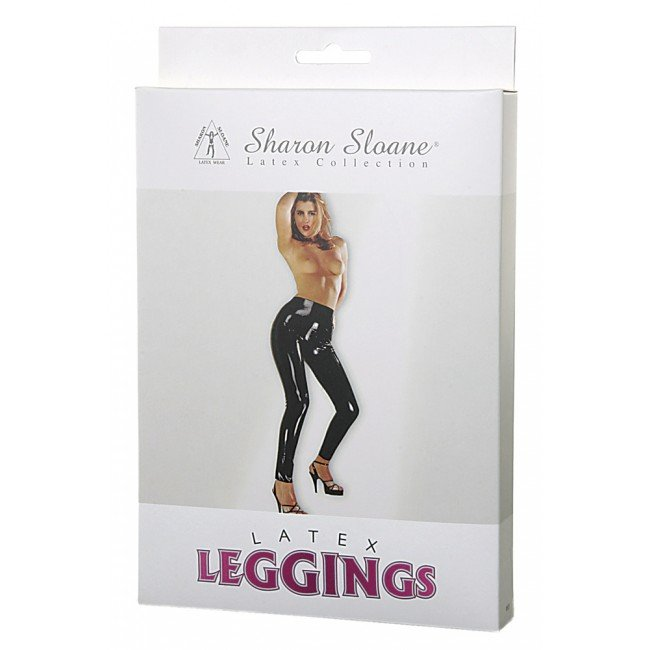 Sharon Sloane - Latex Leggings Black ~ Medium 9503M-BX