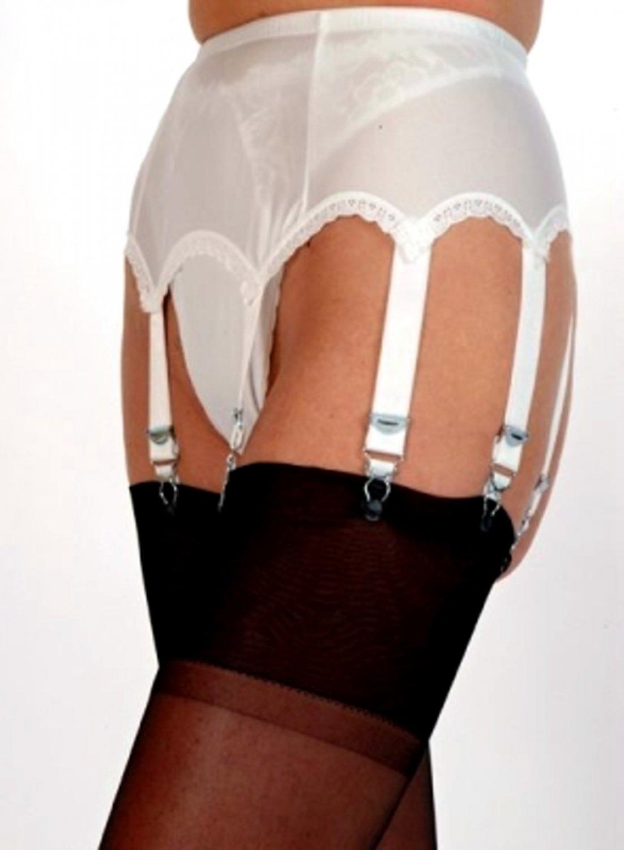 8 Strap Suspender Belt From Nylon Dreams NDL 3