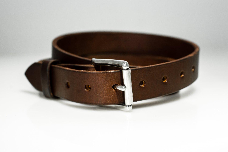 """Men's Handmade Leather Belts - 1.25"""" Wide"""