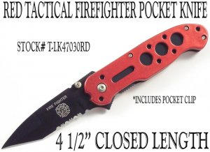 Firefighter's Tactical Knife EMS EMT