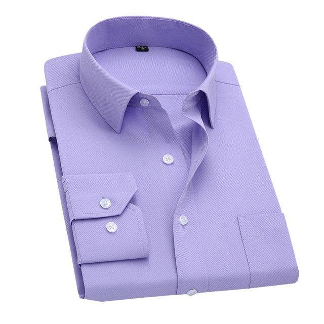 Long Sleeve Slim Men Dress Shirt 2017 Brand New Fashion Designer High Quali