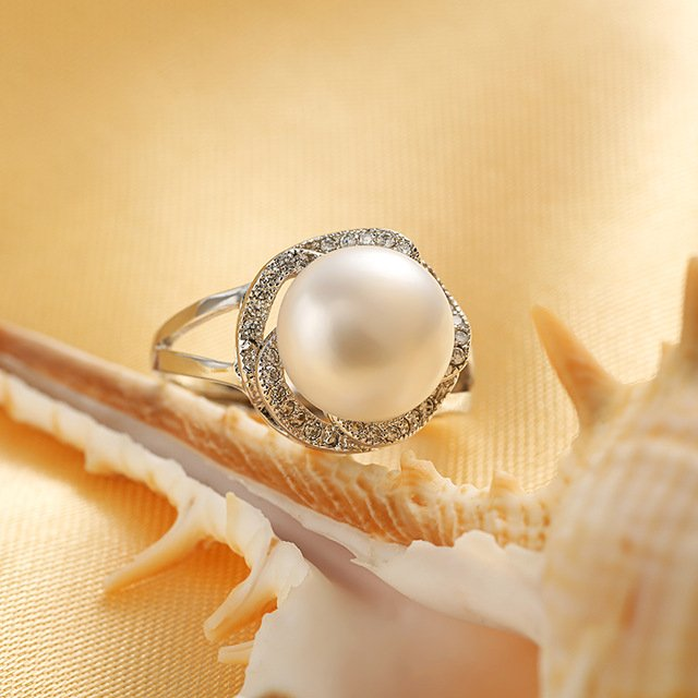 Big Discount 925 sterling silver jewelry on sale big natural pearl rings