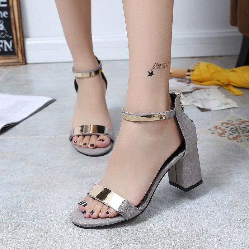 Ladies Shoes 2017 Summer Gladiator Sandals Women High