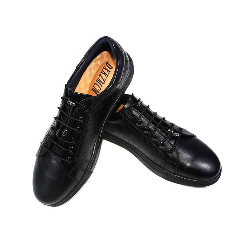 Genuine Leather Men Casual Shoes, Fashion Style Leather Men Shoes