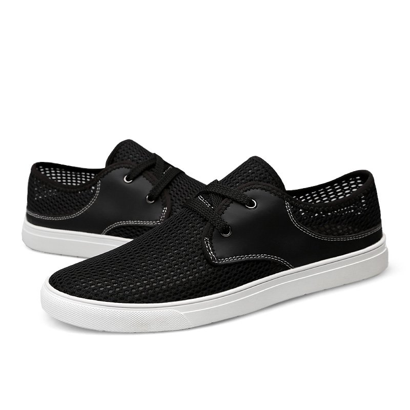 Men Summer Mesh Casual Shoes Breathable Lightweight Fashion
