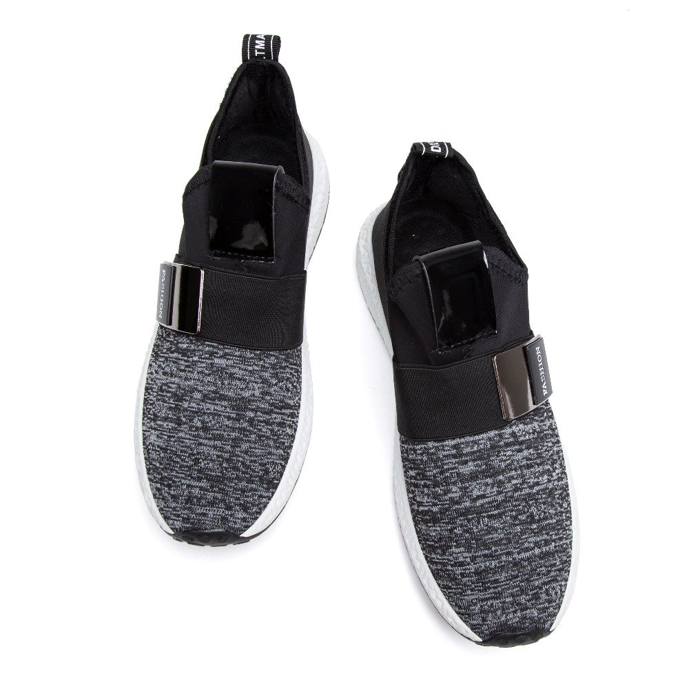 Men Mesh Casual Shoes Slip On Breathable Shoes