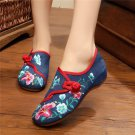 Morning glory Cloth Shoes Chinese Style