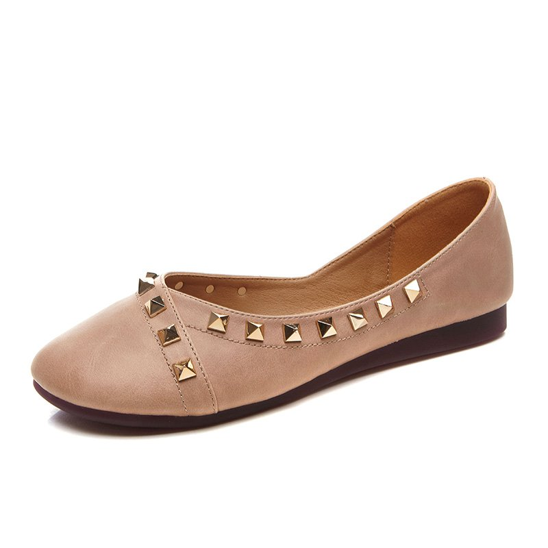 2017 New Women PU Leather Shoes