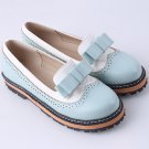 2017 Fashion Women Party Shoes Spring Summer Round Toe Platform Flat Shoes