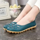 2017 Genuine Leather Flats Shoes Woman Casual Shoes