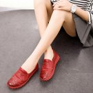 Genuine Leather Woven Women Sewing Shoes 2017 Spring Fashion