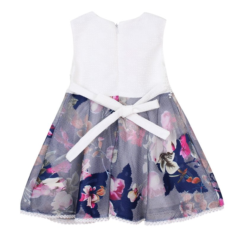 2017 summer brand domeiland Toddler clothing cute lace baby girls