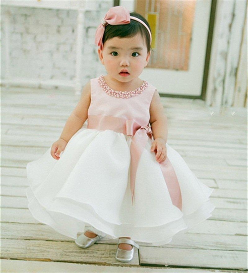 Toddler Girl Baptism Dress Baby Girl
