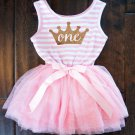 Party Formal Newborn Baptism Dress For Toddler Baby