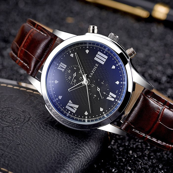 YAZOLE 2017 Fashion Business Wrist Watch Men Top Brand Luxury Famous Male Clock