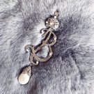 Blucome Flower Pin Brooch Bouquet For Women Party Gifts Women Vintage Hijab
