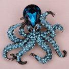 2017 High grade desgin crystal large brooch baroque crystal pearl crown let