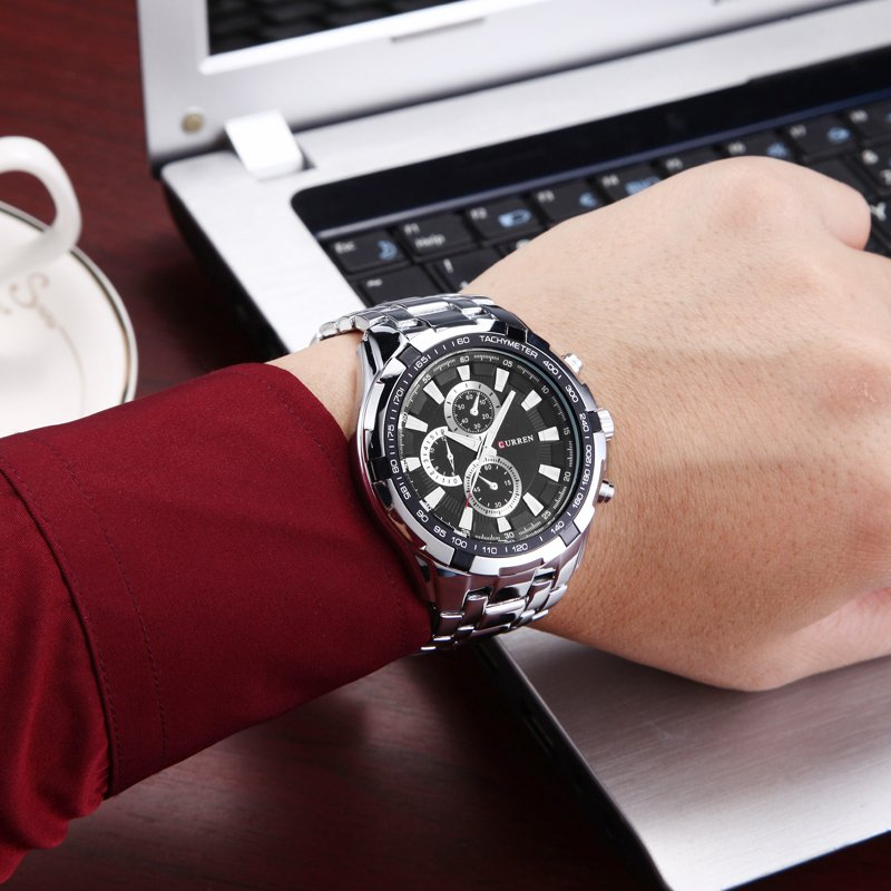 HOT2016 CURREN Watches Men quartz TopBrand  Analog  Military male Watches