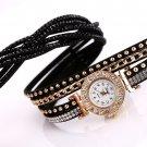 Duoya Watch Women Brand Luxury Gold Fashion Crystal Rhinestone Bracelet Women