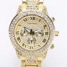 2017 Gold Watch Women Luxury Brand New Geneva Ladies Quartz Watch Gifts For
