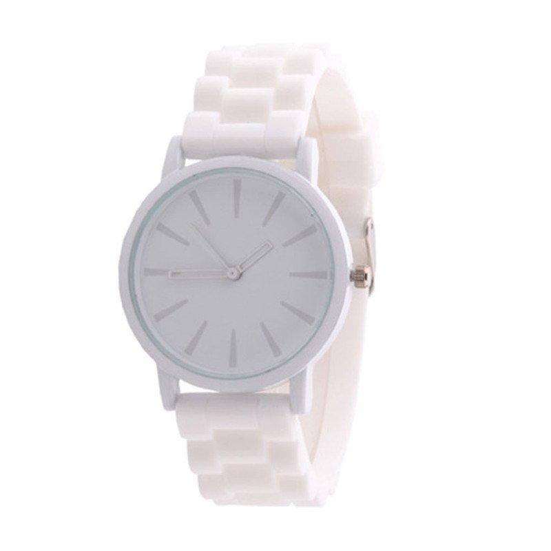 Quartz Watches Women Silicone Rubber Jelly Gel Sport Hour Clock Men Unisex