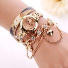 xiniu 2017 Women Dress Watches Quartz Wrist Watch Luxury Rhinestone Gold PU