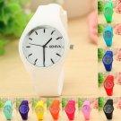 New Fashion Famous Brand Silicone Women Watch Quartz Casual Watch Style Wom