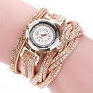 Duoya Women Watches Luxury Crystal Woman Gold Bracelet Quartz diamond Jewel
