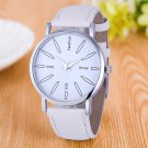 2017 Newest Hot Vico Fashion Watch Women Stainless Steel Leather Band Quart