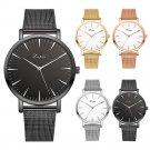 Fashion Women Gold /Silver Stainless Steel Watch Analog Quartz Wrist Watch