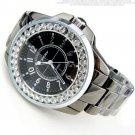 Bling Rhinestone SINOBI Luxury steel Quartz Watch Women Clock female Ladies