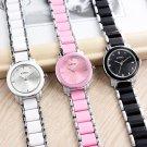 Brand Kimio 2017 Ladies Imitation Ceramic Watch Luxury Gold Bracelet Watche