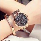 GUOU Luxury Diamond Watch Women Watches Fashion Shiny Rhinestone Women's Wa