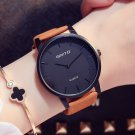 GIMTO Luxury Woman Watch Simple Minimalism Leather Casual Lady Wristwatch L