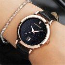 SANDA brand quartz watch ladies waterproof leather watch watch fashion roma