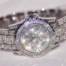 Relogio Feminino Silver Clock Women Watches Birthdays Gift Rhinestone Ceram