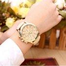 xiniu Fashion Watches Geneva Women Casual PU Leather Bracelet Roman Numeral