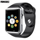 Rinsec A1 Smart Watch Clock Sync Notifier Support SIM TF Card Connectivity
