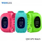 Wonlex Anti Lost Q50 OLED Child GPS Tracker SOS Smart Monitoring Positionin