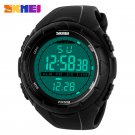 SKMEI Brand 1025 LED Digital Mens Military Watch Men Sports Watches 5ATM Sw
