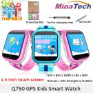 Original GPS Smart Watch Q750 Q100 Baby Smart Watch With 1.54inch Touch Scr