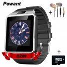 Factory Wholesale Original DZ09 Smart Watch With Camera Bluetooth WristWatc
